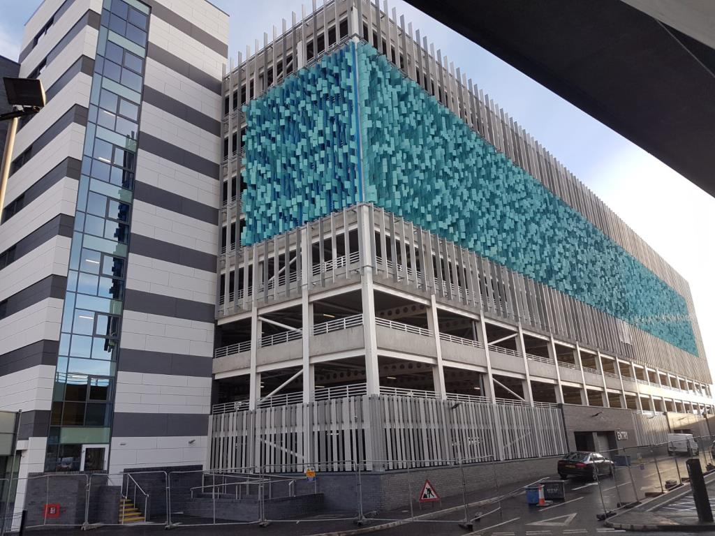 Project Handover - City Quays Car Park, Belfast Harbour