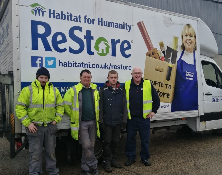 Donation to Habitat for Humanity