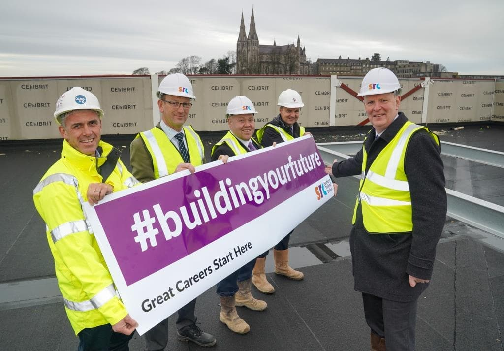 Topping Out Ceremony - SRC Armagh
