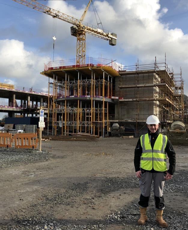 MCIOB Chartership for Senior Site Engineer Wayne Nolan