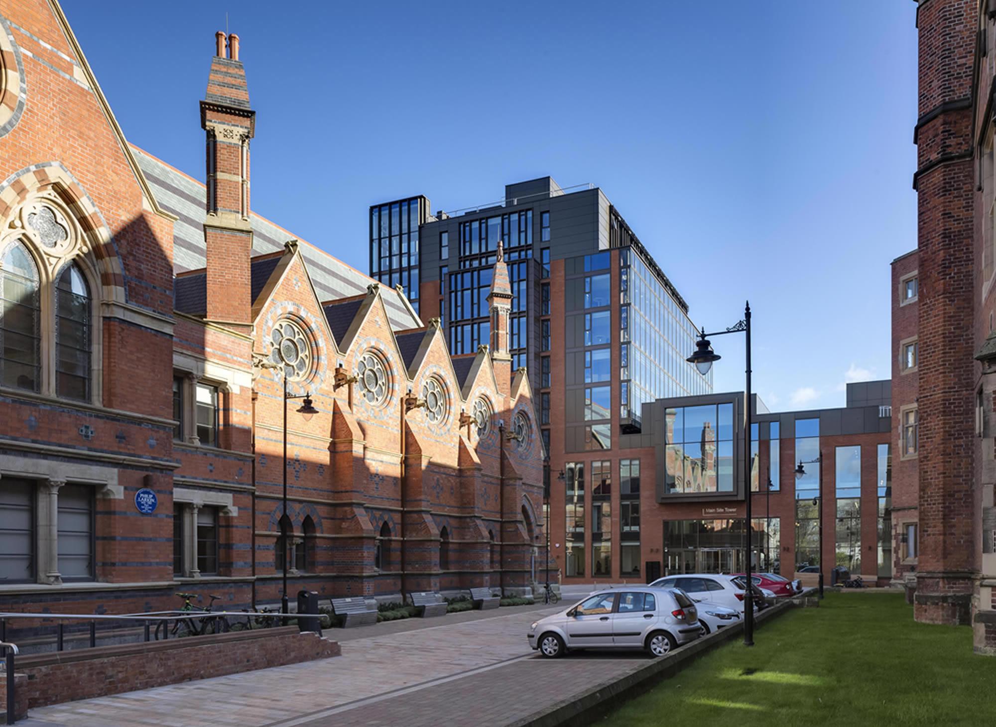 Queens University Belfast Main Site Tower School of Law