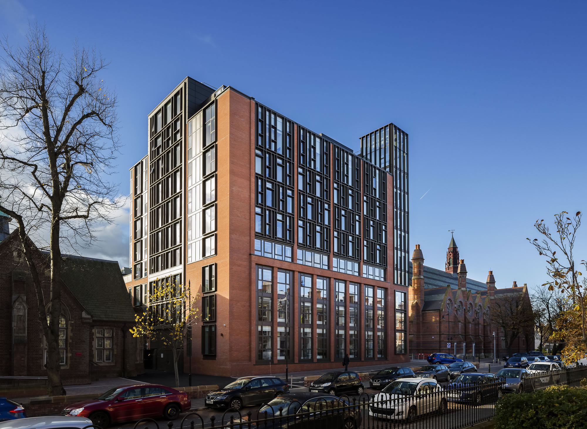 Queens University Belfast Main Site Tower School of Law